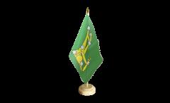 Bandiera da tavolo Irlanda Starry Plough verde 1916-1934