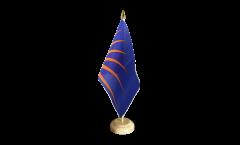 Bandiera da tavolo Irlanda Sunburst