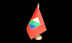 Bandiera da tavolo Italia Abruzzo