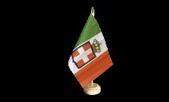Bandiera da tavolo Italia Regno Regio Esercito 1861-1946