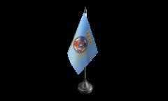 Bandiera da tavolo Italia Lazio