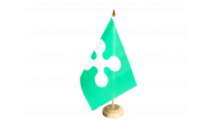 Bandiera da tavolo Italia Lombardia