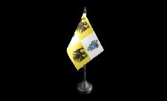 Bandiera da tavolo Italia Ducato di Milano 1395-1797