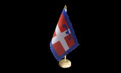 Bandiera da tavolo Italia Piemonte