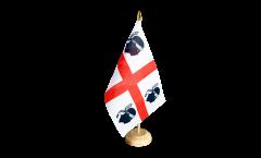Bandiera da tavolo Italia Sardegna