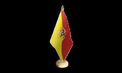 Bandiera da tavolo Italia Sicilia