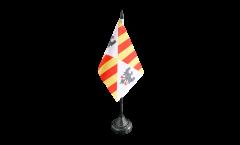 Bandiera da tavolo Italia Regno di Sicilia 1130 - 1816