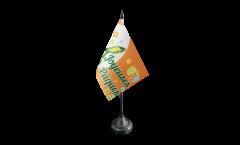 Bandiera da tavolo Joyeuses Pâques - Buona Pasqua