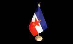Bandiera da tavolo Yugoslavia vecchia