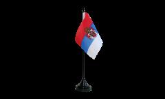 Bandiera da tavolo Regno di Serbia 1882-1918