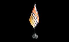 Bandiera da tavolo Canada Columbia Britannica