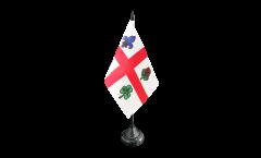 Bandiera da tavolo Canada Montreal