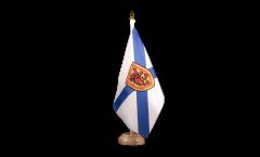 Bandiera da tavolo Canada Nuova Scozia