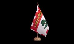 Bandiera da tavolo Canada Isole di Prinz Edward