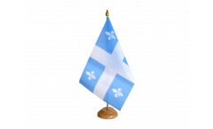 Bandiera da tavolo Canada Quebec
