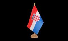 Bandiera da tavolo Croazia
