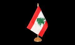 Bandiera da tavolo Libano