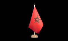 Bandiera da tavolo Marocco