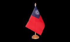 Bandiera da tavolo Myanmar 1974-2010