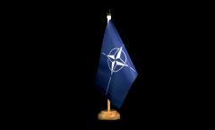 Bandiera da tavolo NATO