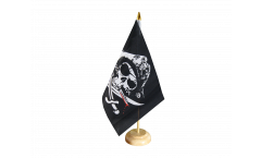 Bandiera da tavolo Pirata con sciabola sanguinante