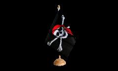 Bandiera da tavolo Pirata con bandana