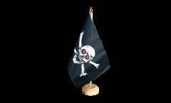 Bandiera da tavolo Pirata con gli occhi rossi