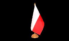 Bandiera da tavolo Polonia