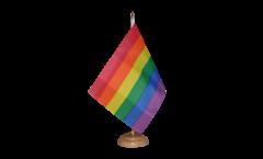 Bandiera da tavolo Arcobaleno