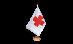 Bandiera da tavolo Croce rossa