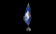 Bandiera da tavolo Svezia Contea di Gotland