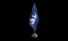 Bandiera da tavolo Svezia Contea di Halland