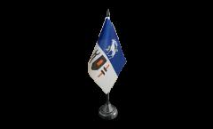 Bandiera da tavolo Svezia Provincia Jämtland
