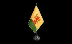 Bandiera da tavolo Svezia Provincia Kronoberg