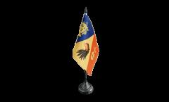Bandiera da tavolo Svezia Contea di Stockholm