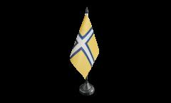 Bandiera da tavolo Svezia Provincia Västergötland storica