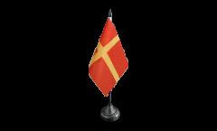 Bandiera da tavolo Svezia Provincia Scania