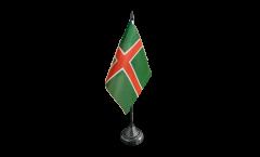 Bandiera da tavolo Svezia Provincia Smaland
