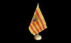 Bandiera da tavolo Spagna Aragona