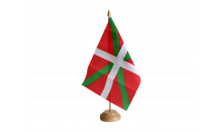 Bandiera da tavolo Paesi Baschi