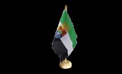 Bandiera da tavolo Spagna Estremadura