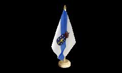 Bandiera da tavolo Spagna Galizia