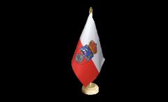 Bandiera da tavolo Spagna Cantabria