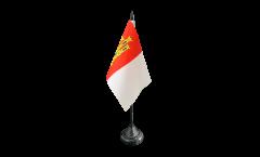 Bandiera da tavolo Spagna Castiglia-La Mancia