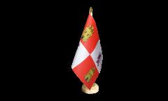 Bandiera da tavolo Spagna Castiglia e Leon