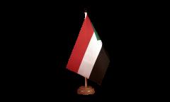 Bandiera da tavolo Sudan