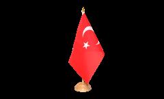 Bandiera da tavolo Turchia