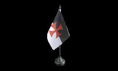 Bandiera da tavolo Templari