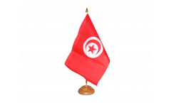 Bandiera da tavolo Tunisia