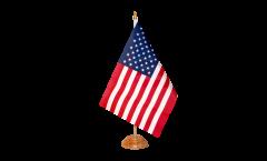 Bandiera da tavolo USA
